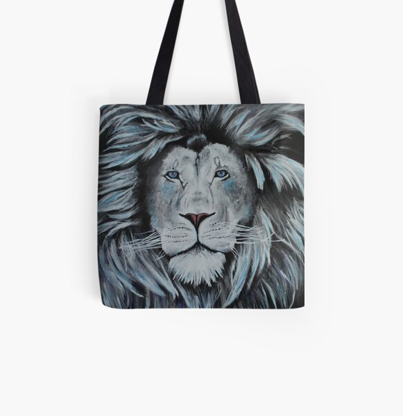 Let your Daggy Dancing Roar All Over Print Tote Bag