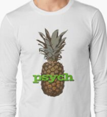 Psych Pineapple Long Sleeve T-Shirt