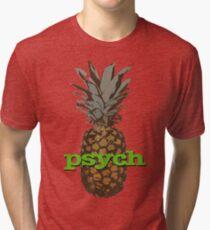 Psych Pineapple Tri-blend T-Shirt