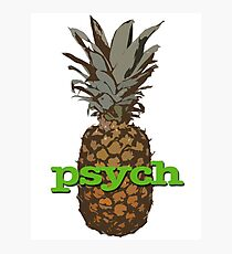 Psych Pineapple Photographic Print