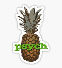 Psych Pineapple Sticker