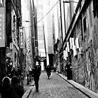 Hosier Lane, Melbourne by petejsmith