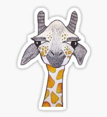 HAPPY GIRAFFE Sticker