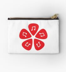 Music Note Guitar Pick Studio Pouch