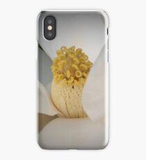 Magnolia macro iPhone Case/Skin