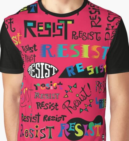Resist Them cherry Graphic T-Shirt