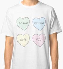 Sassy Hearts Classic T-Shirt