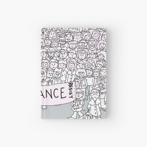 # Resistance Hardcover Journal