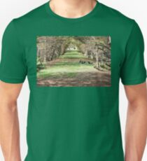 Tunnel of Trees Unisex T-Shirt