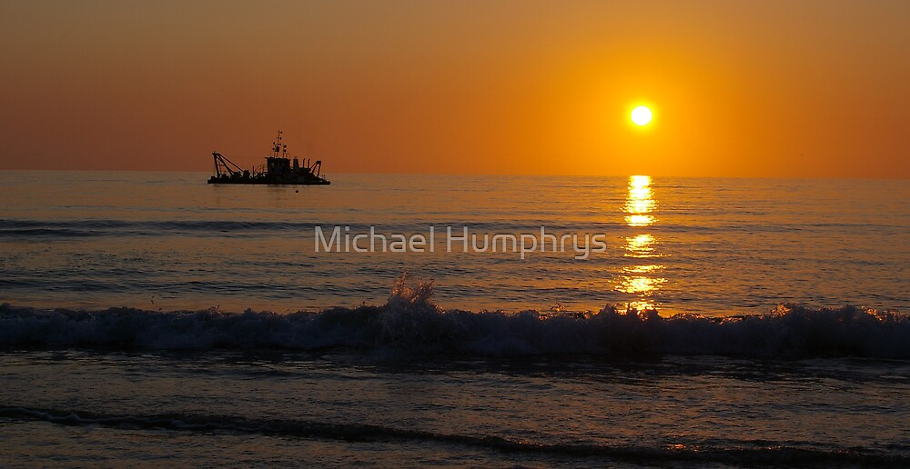 A South Australian Sunset by Michael Humphrys