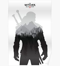 The Witcher 3 - Geralt of Rivia Poster