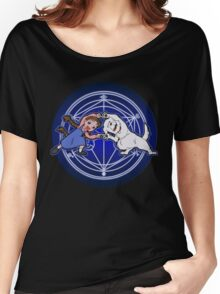 Fullmetal Fusion HaHa! ver.glow Women's Relaxed Fit T-Shirt