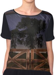 Barn Doors Chiffon Top