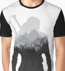 The Witcher 3 - Geralt of Rivia (No Logo) Graphic T-Shirt