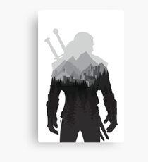 The Witcher 3 - Geralt of Rivia (No Logo) Canvas Print