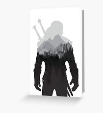 The Witcher 3 - Geralt of Rivia (No Logo) Greeting Card