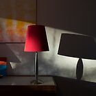 Red Lamp by ReadyMades