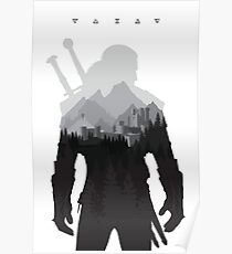 The Witcher 3 - Geralt of Rivia (Signs) Poster