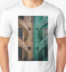 Symmetrical Staircases  Unisex T-Shirt