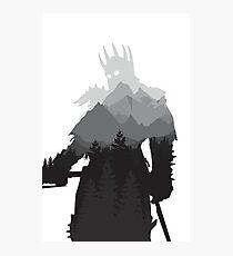 The Witcher 3 - Eredin (No Logo) Photographic Print