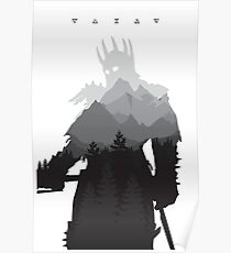 The Witcher 3 - Eredin (Signs) Poster