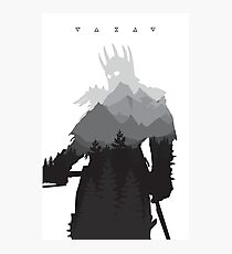 The Witcher 3 - Eredin (Signs) Photographic Print