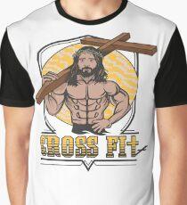 Jesus CrossFit Grafik T-Shirt