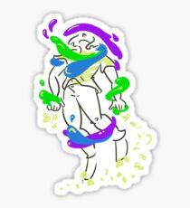 Unstuck Sticker