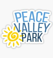 PEACE VALLEY PARK Sticker