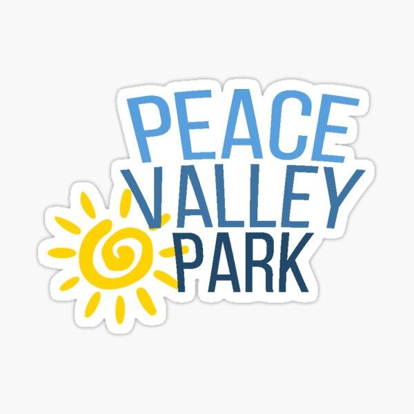 PEACE VALLEY PARK Sticker