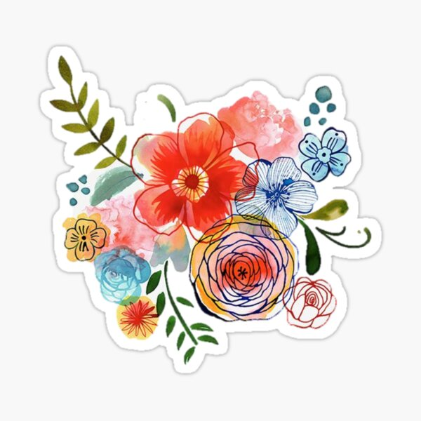 Floral Arrangement  Sticker
