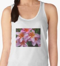 Fabulous Tropical Pink Frangipani  Women's Tank Top