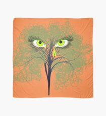 Weeping Willow Green Scarf