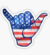 Shaka USA  Sticker