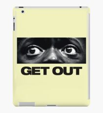 Get Out The Eye logo iPad Case/Skin