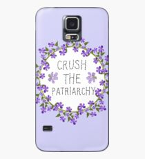 crush the patriarchy Case/Skin for Samsung Galaxy