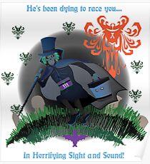 Run Hatty Poster Poster