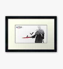 The Witcher 3 - Eredin (Landscape) Framed Print