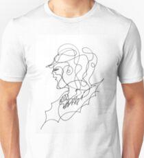 sketching portrait Unisex T-Shirt