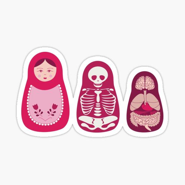 Inside out - Russian Matryoshka dolls Sticker
