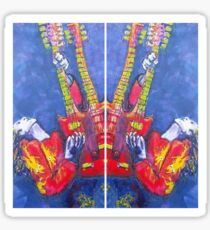 Jimmy Page - Original Artwork  Sticker