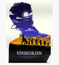 BTS x Olly Moss: Kim Seokjin Poster