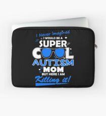 Autism Cool Autism Mom Laptop Sleeve