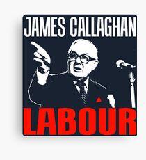 James Callaghan Canvas Print