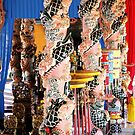 Decorative poles, house of prey Vietnam by cs-cookie