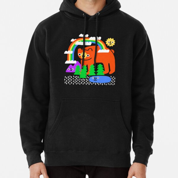Funky Forest Pullover Hoodie