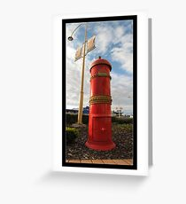 postbox Greeting Card