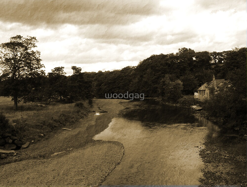 Old Fashioned River by woodgag