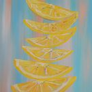 A Stack of Lemon Slices by EloiseArt