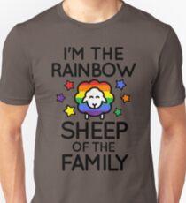 I'm the Rainbow Sheep of the Family Unisex T-Shirt